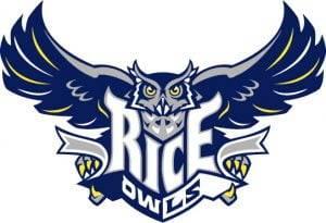 Rice University mascot logo