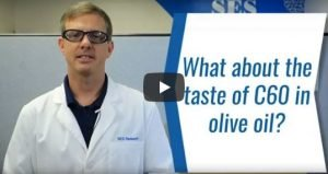 Peppery Taste of C60 with Olive Oil - SES Research Inc.